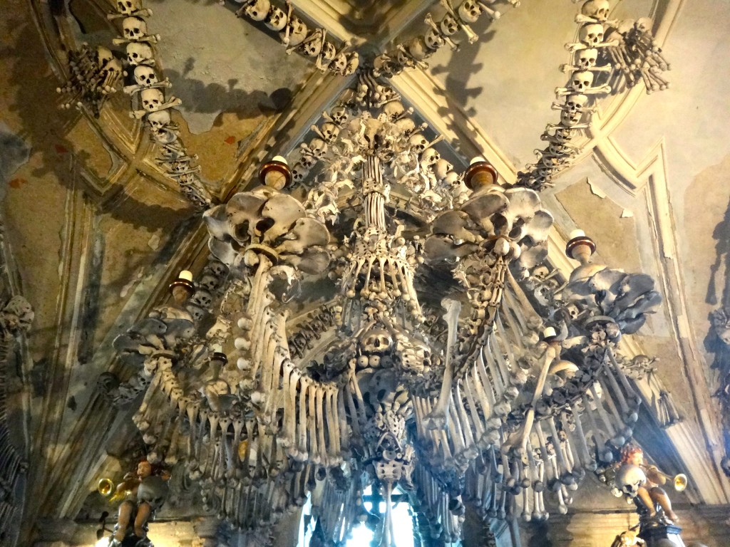 Boo! from the Bone Church at Kutna Hora